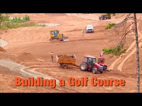 Building a Golf Course