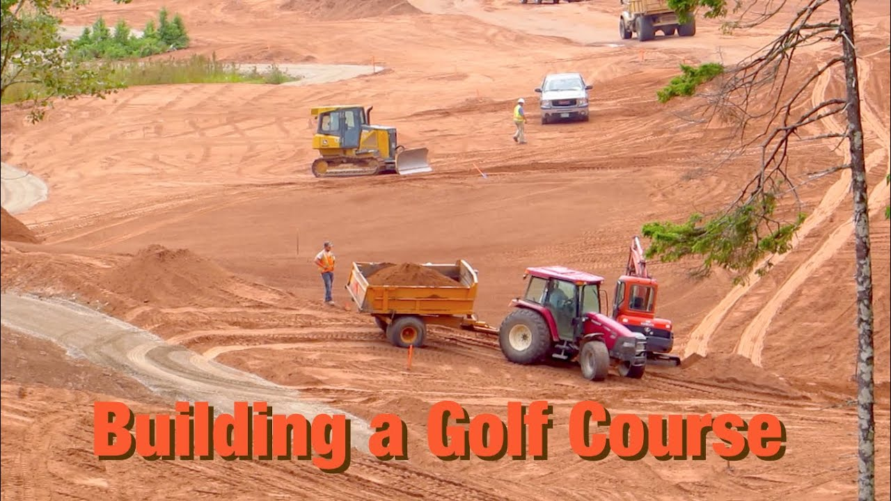 building a golf course youtube