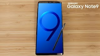 Galaxy Note 9 - More LIVE IMAGES, Stereo Speakers and More