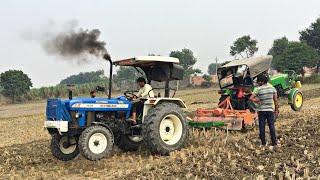 John Deere 5310 vs new Holland 3630 tractor tochan in Haryana
