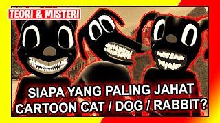 Download KUMPULAN MAHLUK HORROR TREVOR HENDERSON PART 8 | BAHAS CARTOON CAT DOG DAN RABBIT !