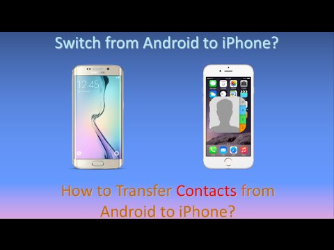 transfer contacts iphone to android how to transfer contacts from android to iphone 6s 6s plus 4528