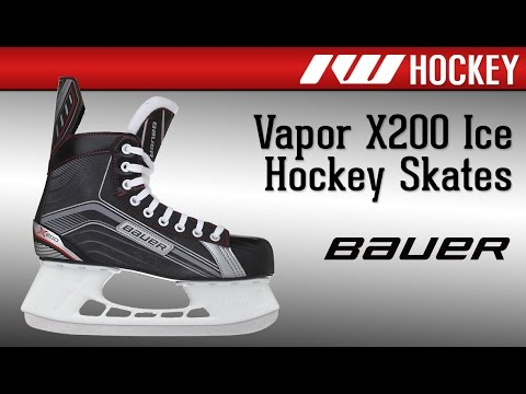 59d0ef956be Bauer Vapor X200 Skate Review. Ice Warehouse