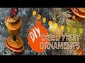 Dried Fruit Ornaments / 12 Days of Christmas - DIY / Homemade Christmas Decorations / Day 4