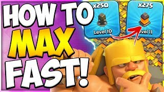 Secret to Fast Wall Upgrades   How to Upgrade Your Walls Fast in Clash of Clans