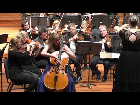 Variations on a Rococo Theme by Tchaikovsky, with encore (Edwards: Water Spirit Song)