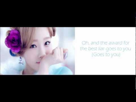 Girls Generation SNSD Taeyeon  Take a Bow {Rihanna} Lyrics
