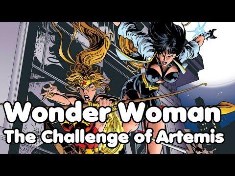 Komiksové bubliny - Wonder Woman: The Challenge of Artemis