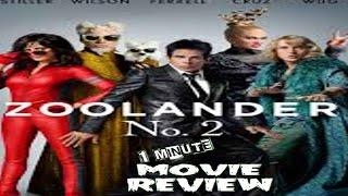 1 Minute Movie Review Zoolander 2