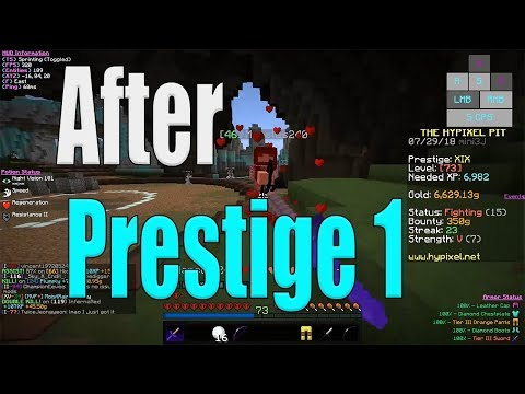 What To Do After Prestige 1? - Hypixel The Pit