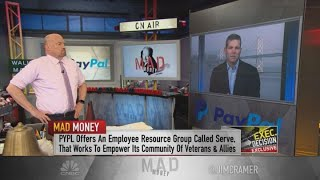 PayPal CFO talks supporting veterans, competition in the digital payment space