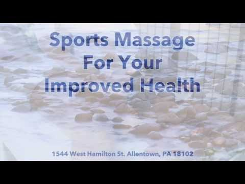 Sports Massage For Your Improved Health Wellness Center - Allentown, PA