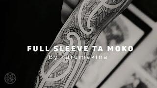 TA MOKO by Turumakina // Full sleeve Maori Ta Moko