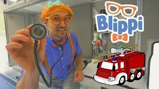 Download Blippi Fire Trucks for Toddlers | 1 Hour Educational Videos for Children Mp3 and Videos