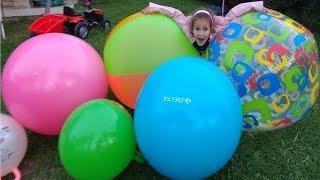 DEV TOPLAR BAHÇEDE, eğlenceli çocuk videosu