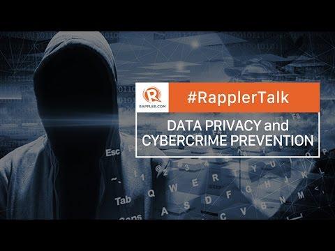 Rappler Talk: Data Privacy and Cybercrime Prevention