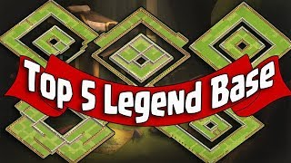 TOP 5 LEGEND BASE | BEST TH11 STRONG DEFENSIVE BASE 2018 REPLAY/ANTI 0 STAR BASE/ANTI EVERYTHING