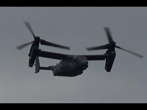 ILA 2018 Highlight | Bell Boeing V 22 Osprey landing for ILA Berlin Air Show 2018