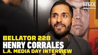 Henry Corrales Excited to Challenge 'Sick Ass Wrestler' Darrion Caldwell - MMA Fighting