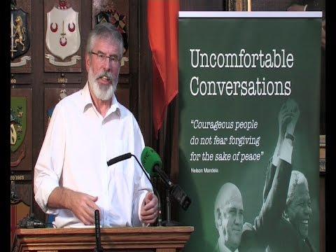 Gerry Adams - 'Uncomfortable Conversations'