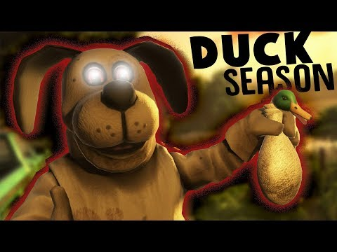 DUCK HUNT GONE MAD! - Duck Season Gameplay Part 1 (HTC Vive VR)