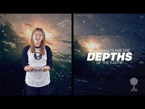 Sing for Joy (Psalm 95:1-4) Split Screen Hand Motion Video