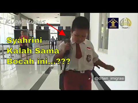 VIDEO VIRAL : NURSAKA, Ini Bocah Yang Kalahkan Syahrini TIAP HARI Bolak Balik KE LUAR NEGERI!