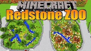 Mega Fortschritte und Mega Prank! - Minecraft Redstone Zoo #28