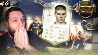 ΞΕΚΛΕΙΔΩΣΑΜΕ STEVEN GERRARD!!! | FIFA 20 ULTIMATE TEAM RTG #4