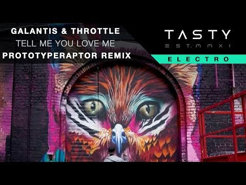 Galantis & Throttle  Tell Me You Love Me PrototypeRaptor Remix