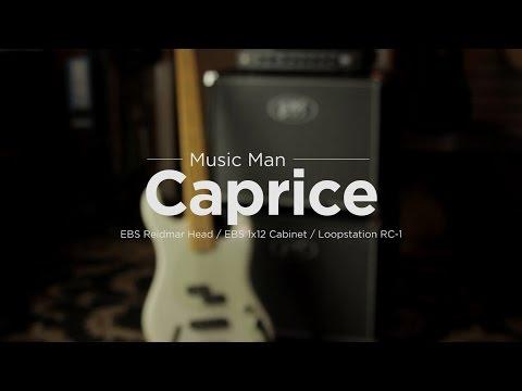 Music Man | Caprice Bass w/ EBS Reidmar Head and Cab