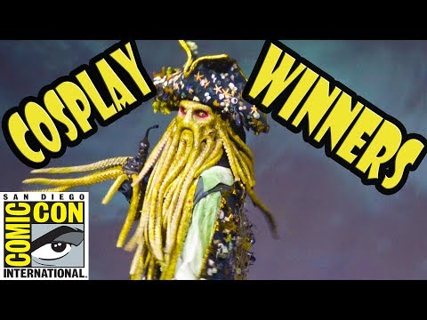 Cosplay Winners at San Diego Comic Con Masquerade 2018