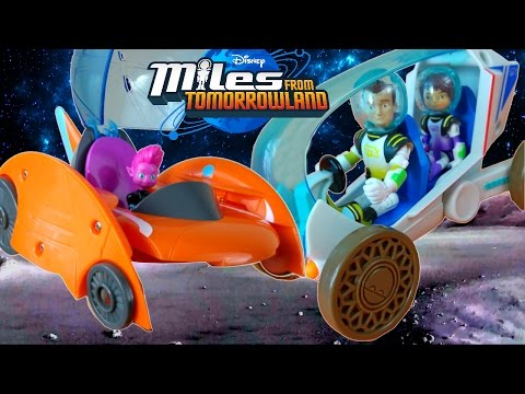 MILES FROM TOMORROWLAND SCOUT ROVER HOT SAUCER PIPP SPACE SHIPS DISNEY JUNIOR