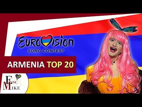 Eurovision Armenia 2018 [Depi Evratesil] - My Top 20 [With RATING]