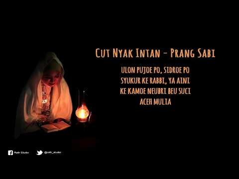 Lagu Aceh - Hikayat Prang Sabil -  Cut Nyak Niken