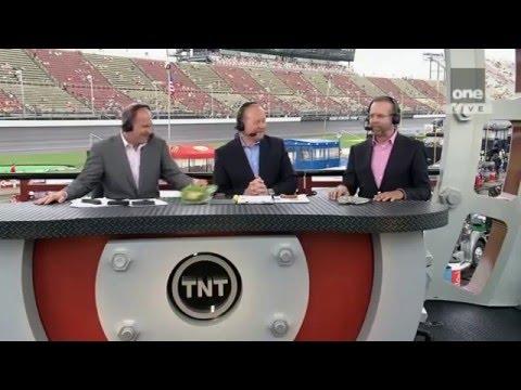 2012 Quicken Loans 400 Rain Delay - The NASCAR on TNT Crew Tries Vegemite - 6/17/2012