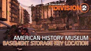 Download lagu Division 2 - American History Museum - Basement Storage Key and Secret Loot Storage Location