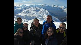 Film vidéo d'une semaine de sport d'hiver à Chamonix Mont Blanc