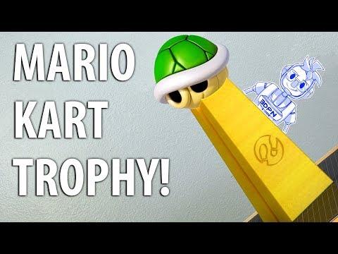 3D Printing a Mario Kart Championship Trophy!
