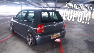 SUPERCHARGED LUPO SHOOTS FLAMES!!!