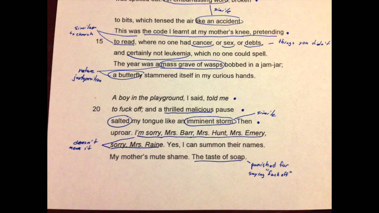 stealing carol ann duffy essay Essay what points is duffy making in stealing  what techniques does she use to make her ideas clear in the poem stealing carol ann duffy represents the.