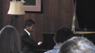 Nio Ajero's 1st Solo Piano Recital (Part 2 of 4)