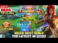 HILDA BEST BUILD IN 2020 | TOP GLOBAL HILDA ᴀxʏʏツ  - MOBILE LEGENDS
