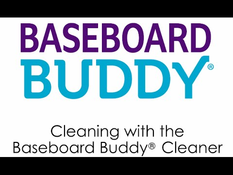 How to use the As Seen on TV Baseboard Buddy Cleaner