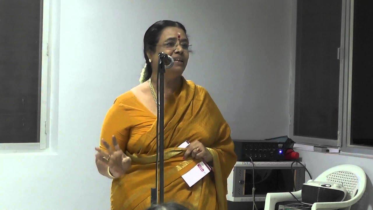 Dr Sarada Nambi Arooran ( Kalaimamani ) l Senior Citizens Support Forum l  Russian Cultural academy