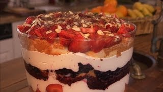 Berry Skinny Trifle Recipe