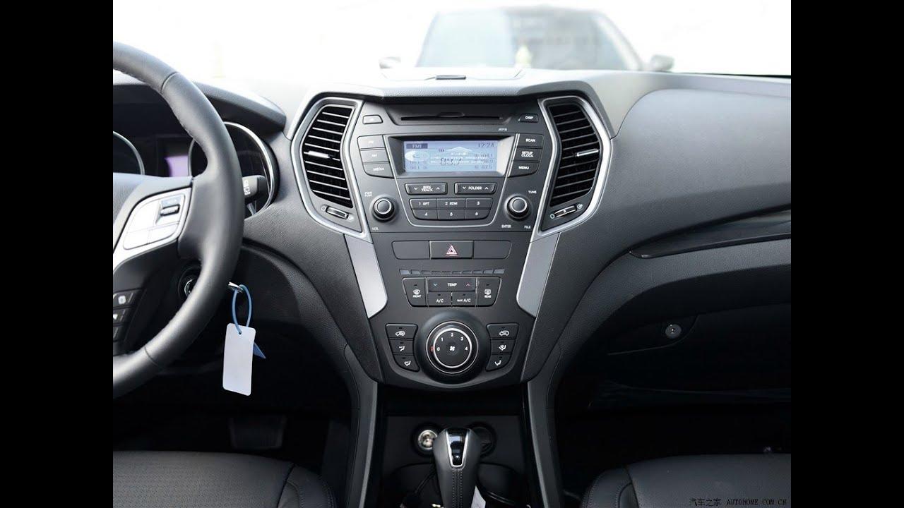 YZG FOR HYUNDAI Ix45 Santa Fe Car DVD Player GPS
