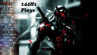 How Genji feels to play in 144Hz   Overwatch (2k sub special)