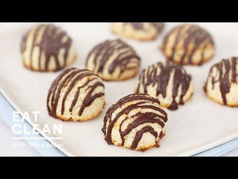 Gluten-Free Dark Chocolate Coconut Macaroons Eat Clean with Shira Bocar
