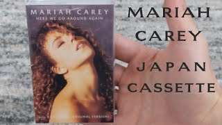 Mariah Carey - Here We Go Around Again Japan Cassette Unboxing